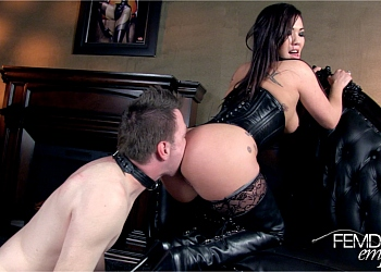 Femdom ass licking london